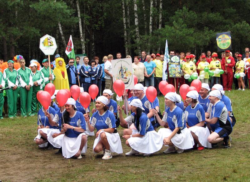 """Снова летний наш турслёт - """"Беларусбанк"""", вперёд!"""