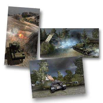 Их объединила игра. World of Tanks — второе дыхание.