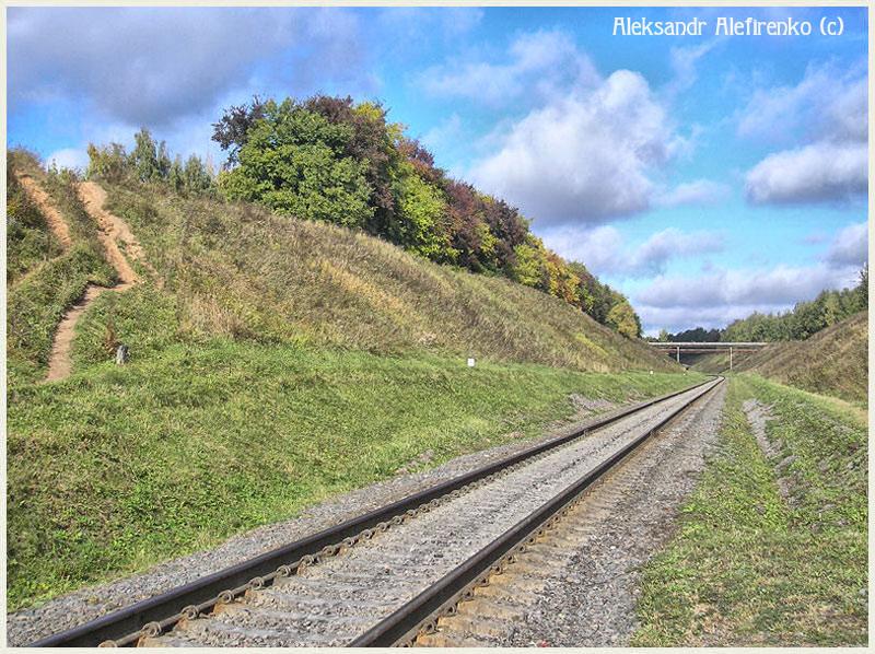 Осенний железнодорожный этюд....